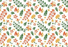 Free Batik Background Vectors