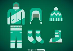 Winter Coat Vector Set