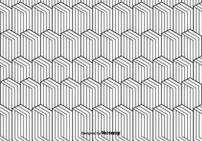 Monokrom vektor mönster