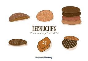 Vector de Lebkuchen