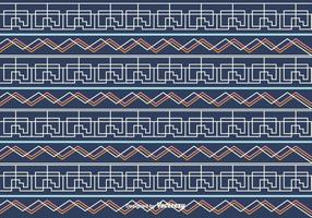 Blauwe Lineaire Vector Achtergrond