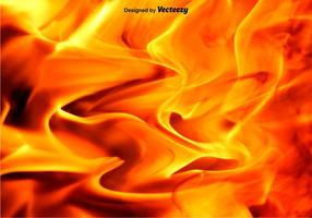 Vector Background Fire And Flames