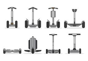 Set Of Segway Vector