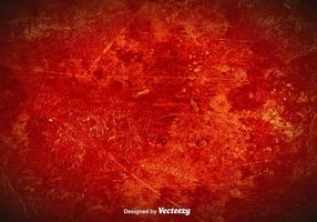 Vector Red Grunge Background