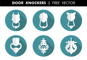 Door Knockers Free Vector