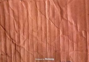 Vector textura de cartón arrugado