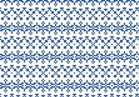 Indigo Stitch Pattern