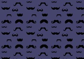 Vecteur de motif de moustache gratuit