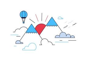 Gratis Mountain Vector