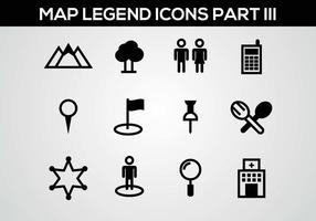 Free Map Legend Part III Vector