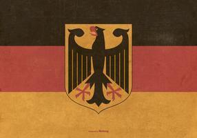 Bandeira Vinatge da Alemanha