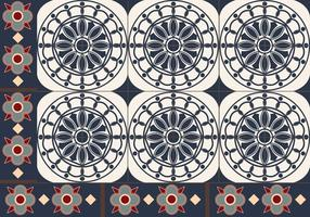 Padrão de azulejo português