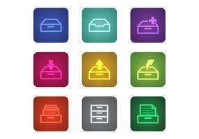 Gratis File Cabinet Vectors