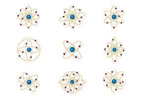 Vecteurs d'atomium gratuits