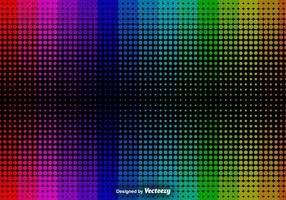 Abstract Halftone Background - Vector Background