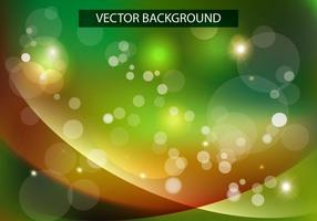 Shiny Wave Green Background Vector