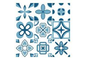 Vetores de azulejos portugueses gratuitos