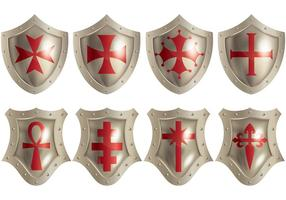 Gratis Templar Pictogrammen Vector