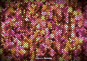 Kleurrijke Vierkante Tegels Patroon - Vector Ge Pixelated Achtergrond