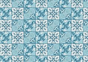 Vector de azulejos portugueses