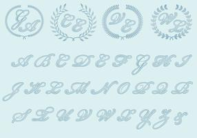 Wedding Monograms vector