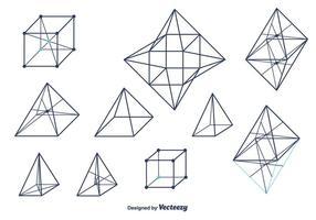 Geometrische vormen Vector