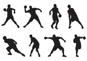 Gratis Dodgeball Player Vectors