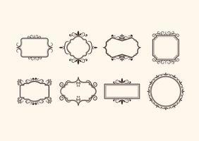 Free Vintage Retro Ornamentale Rahmen Vektoren