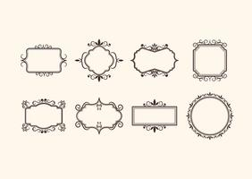 Free Vintage Retro Ornamental Frame Vectors