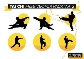Tai Chi Free Vector Pack Vol. 2