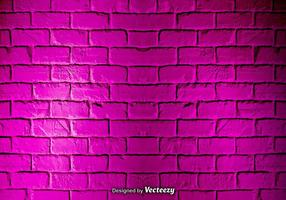 Vector Pink Grunge Brick Wall Texture