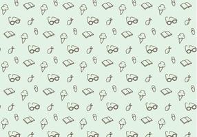 Summer Icons Pattern