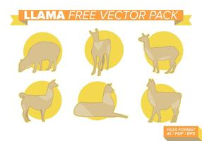 Lama Free Vector Pack