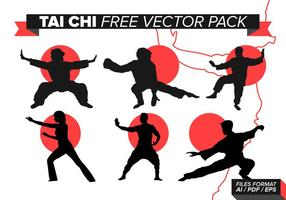 Tai Chi Free Vector Pack
