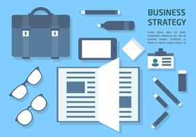 Gratis Flat Business Office Vector Elements
