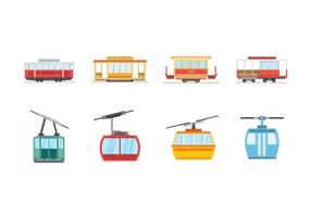 Free Cable Car Vectors