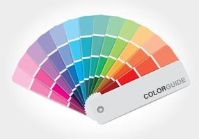 Color Guide Book Vector