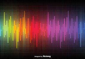 Fondo abstracto con colores de arco iris