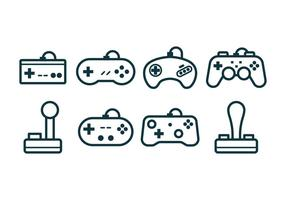 Gaming Joystick Icons