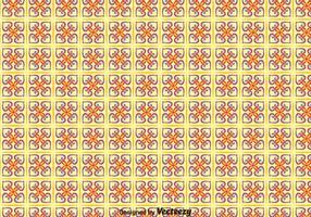 Tradicional portugués mosaico patrón transparente