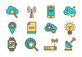 Kostenlose Internet Icons Vektor