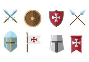 Vectores Templarios Gratis
