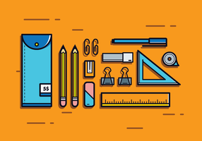 Pencil Case Vector
