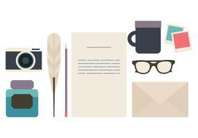 Vektor-Schreibgeräte
