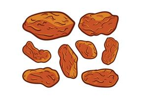 Free Raisins Vector
