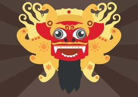 Barong Vector Illustratie