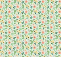 Plant Flower Pattern vector