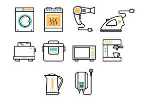 Set Of Appliance Icon