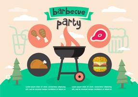 Free Barbecue Party Vector