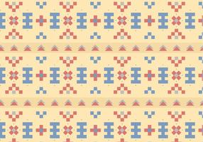 Native Pastel Pattern Background